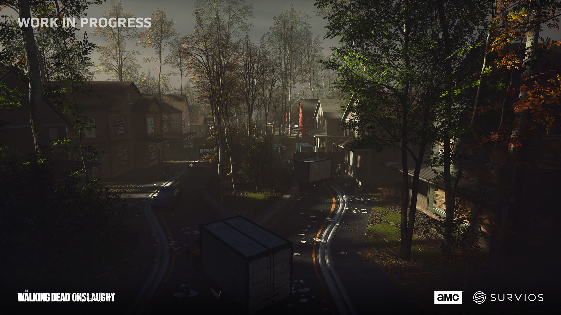 The Walking Dead Onslaught game screenshot